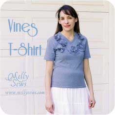 Vines T-Shirt Refashion – Guest Post at Keeping It Simple