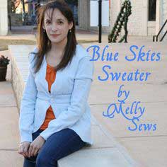 ReInvention – Blue Skies Sweater