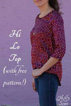 High Low Shirt Tutorial and Pattern