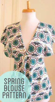 Empire Waist Blouse Pattern