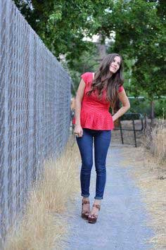 THE PEPLUM TOP TUTORIAL