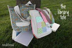 THE LIBRARY TOTE TUTORIAL