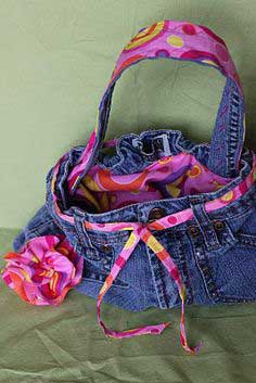 Jean Purse - Quick and Easy