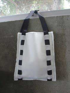 Easy Expandable Felt Tote Bag