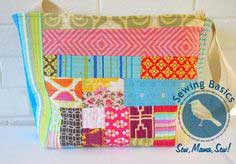 Sewing Basics: Patchwork Totes