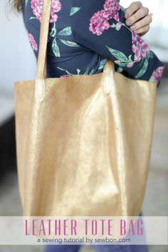 BUY OR DIY | LEATHER TOTE BAG TUTORIAL