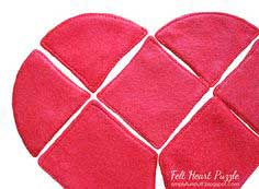 Make a Felt Heart Puzzle: Guest Blog Post!