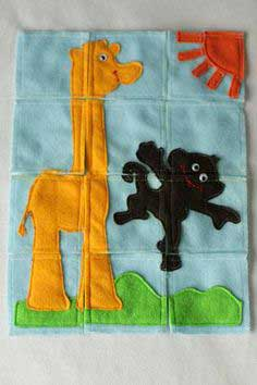 Craft Felt Jigsaw Puzzle