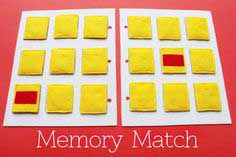Simple Quiet Book Series – Memory Match Game