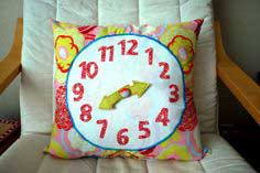 Craft Tutorial: Clock Pillow