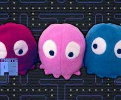 How to make a Pacman Ghost Plush