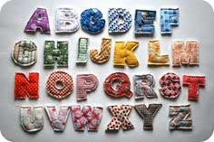 DIY Baby Gift Plush Alphabet Tutorial by Chez Beeper Baby