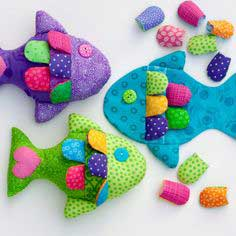 August 16 - Little Fishy Pattern and Tutorial