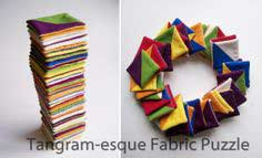 Tutorial: Tangram-esque Fabric Puzzle