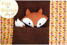 Fox & Blankie Play Set by Abby Glassenberg