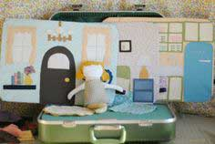 doll suitcase: tutorial