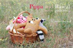 Pippa and Rascal- A Free Softie Pattern!