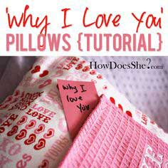 Why I Love You' Pillows {Tutorial}