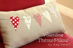 Valentine Throw Pillow Tutorial by Diary of a Quilter