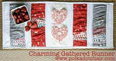 TUTORIAL: CHARMING GATHERED TABLE RUNNER