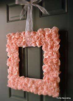 Valentine Rose Wreath Tutorial