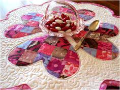 Wednesday Sewing - Quilted Valentine's Day Table Mat