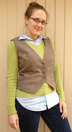 Vest Patterns Over 100 Free Patterns For Vests At Sewpin Com