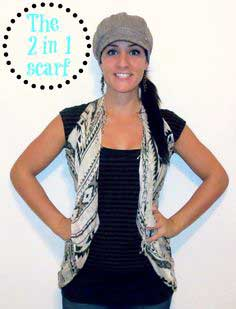2-in-1 Scarf