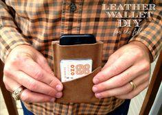 Leather wallet for the fellas