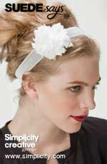 SUEDEsays...Make a Floral Headband