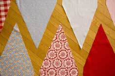 DIY Wedding Pennant Banners