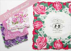 VINTAGE HANKIE DO IT YOURSELF SAVE THE DATE