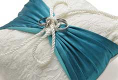 Upcycled Ring Bearer's Pillow by Lisa Klingbeil