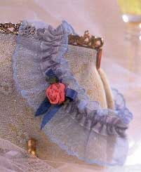 Something Borrowed, Something Blue Bridal Garter