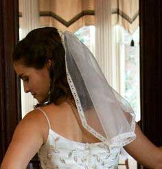 How to make your own mantilla veil