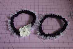 DIY RING PILLOW AND WEDDING GARTER