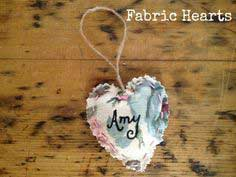 DIY Tutorial: Fabric Hearts