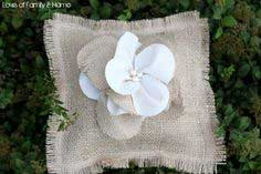 Burlap Ring Bearer Pillow…A Tutorial