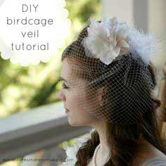 My birdcage veil!! A tutorial