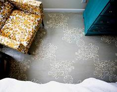 DIY PROJECT: STENCILED FLOORS