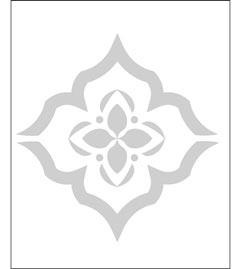 DIY Cover Stencil Template