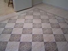 Floor Stenciling Tutorial