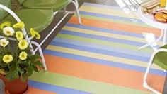 Paint a Striped Porch Rug
