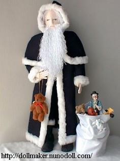 75 Santa Patterns To Sew Sewpin Com