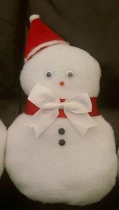 Cute and simple Christmas Snowman