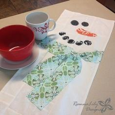 Frosty Table Runner Pattern