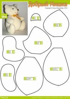 graphic regarding Free Teddy Bear Patterns Printable identify 86 Teddy Undertake Types in the direction of Sew at