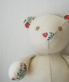 Wool and Liberty Teddy Bear
